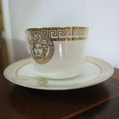 VERSAGE Inspired Rosenthal Coffee Cup and Saucer US $81.63