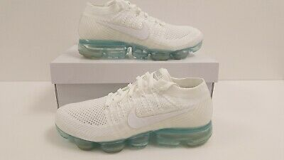 Nike Air Vapormax Flyknit Triple White Mens Trainers All Sizes