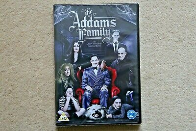 The Addams Family        Brand New Sealed Genuine Uk Dvd