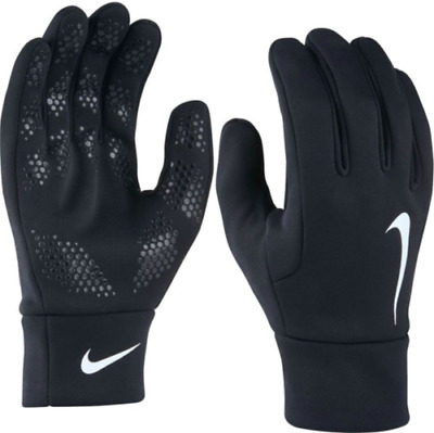Nike Hyperwarm Field Player Gloves Black Nike Football Training Sizes-S L Xl