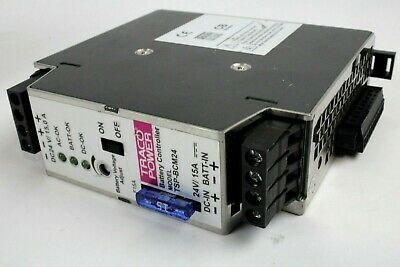1 TRACO TSP 360-124 INDUSTRIAL POWER SUPPLY 15A 24-28V ADJUSTABLE 25 AVAILABLE