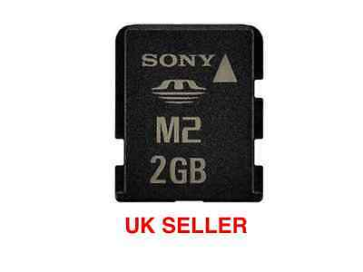 2GB( M2 ) Sony Memory Stick Micro Card for Camera and Sony Ericsson Phones