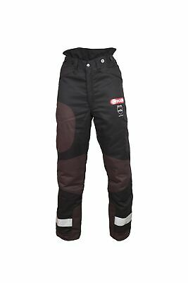 Oregon 295453/L Yukon+ Type A Class 1 (20 m/s) Chainsaw Protective Trousers, ...