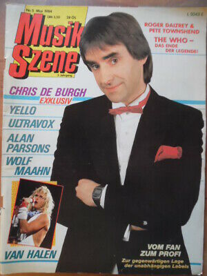 MUSIK SZENE 5 - 1984 Chris de Burgh Van Halen Propaganda Yello KARAT The WHO