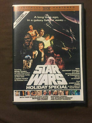 Star Wars Holiday Special 1978 Unreleased DVD. Free Shipping! Christmas!