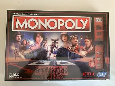 Stranger Things Netflix MONOPOLY Limited Edition BRAND NEW & SEALED Hasbro Game