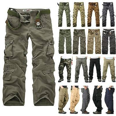 men cargo millitary clothing Tactical Pants Outdoor Camo workwear Trousers X541