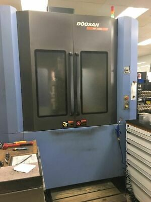 Used DOOSAN HP5500 Horizontal Machining Center