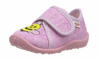 Superfit Girls' Spotty Low-Top Slippers 7.5 UK Pink (Rosa 55)