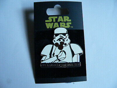 Star Wars Stormtrooper Eating a Mickey Mouse Ice Cream Bar Disney Pin 61060 NOC