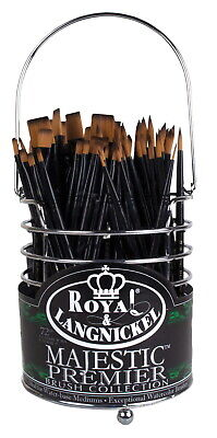 Royal Brush Majestic Variety Synthetic Hair Acrylic Handle Classroom Caddies