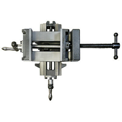 """3"""" X-Y Compound Cross Over Slide Sliding Drill Press Vise Milling Drilling 2 WAY"""