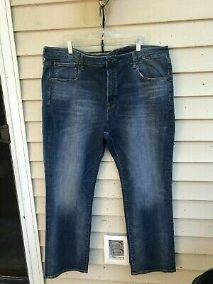 american eagle EXTREME FLEX ORIGINAL STRAIGHT STRETCH BLUE size 44x32