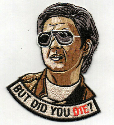 But Did You Die Hangover EDC Bag Morale VELCRO® BRAND Hook Fastener Patch