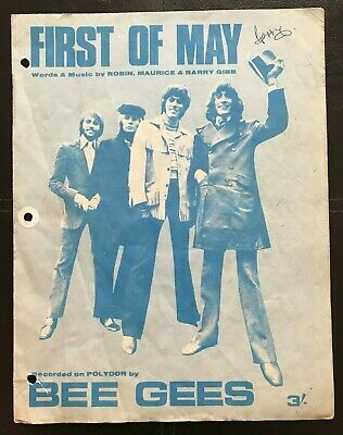 First Of May, Bee Gees, Sheet Music (#18)