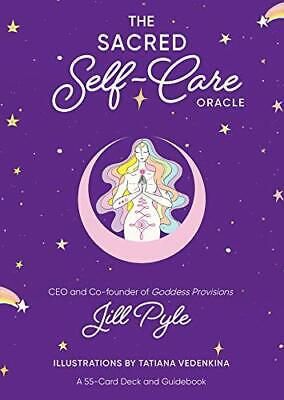 The Sacred Self-Care Oracle: A 55-Card Deck And Guidebook Free Shipping