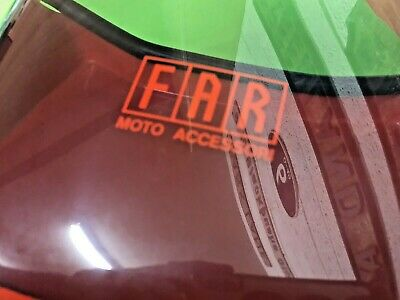Vespa T5 125 Nos Far Sports Flyscreen Fits The Mk 1 Model Rectangle Front Light