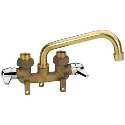 Homewerks Brass Sink Tub Faucet Kitchen Utility Laundry Tray Hose End 2-Handle