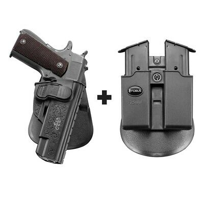 CZ-USA CZ 75 SA TARGET DOUBLE-MAGAZINE POUCH BY ACE CASE *100 MADE IN U.S.A.*