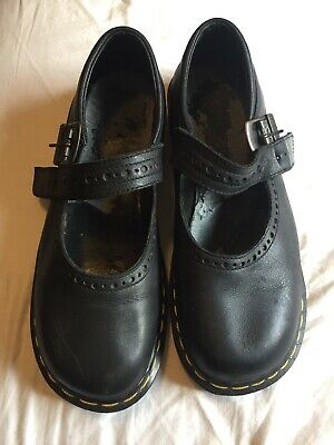 Mary jane Doc Dr Dr. Martins Vintage Made In England 8 (41) Womens 10 Leather