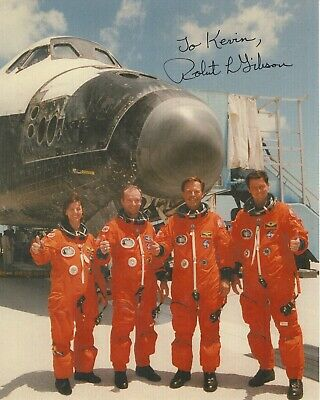 ROBERT GIBSON AUTHENTIC SIGNED 8x10 PHOTO      GREAT NASA ASTRONAUT     TO KEVIN