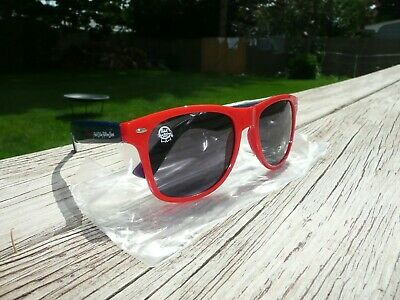 PBR Pabst Blue Ribbon Beer Branded Sunglasses Sun Glasses Red + Blue