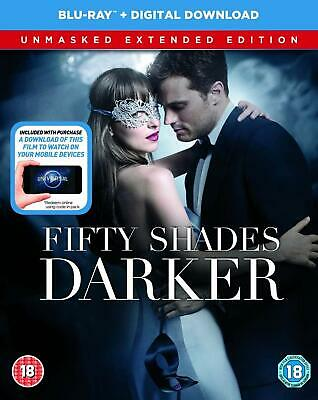 Fifty Shades Darker (Jamie Dornan) Unmasked Extended Edition Blu Ray New & Seal