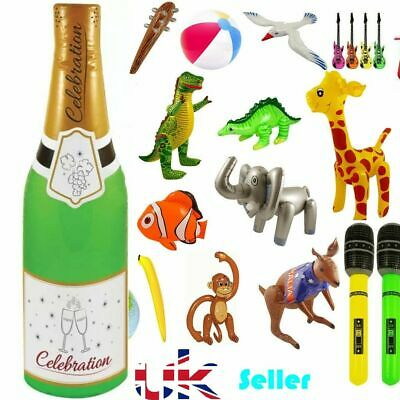 INFLATABLE BLOW UP PARTY FANCY DRESS BEACH ANIMAL ACCESSORY TOY PROP DECORATION
