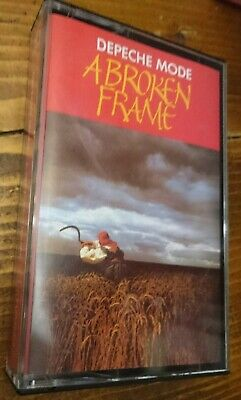DEPECHE MODE - A Broken Frame - RARE 1982 Original Red Paper Label Cassette Tape