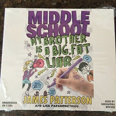 Middle School My Brother Is a Big Fat Liar by J Patterson & L Papademetriou CD