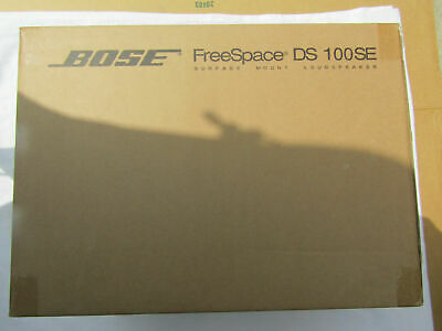 Bose Professional FreeSpace DS 100SE Loudspeaker (Black) Each Brand New