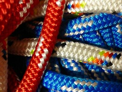 "5/8"" Double Braid-Yacht Braid Polyester Rope Assortment Box. 30 lb."
