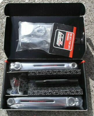 REDLINE FLIGHT CRANK BMX 3-piece CRANKS 175 mm Chrome