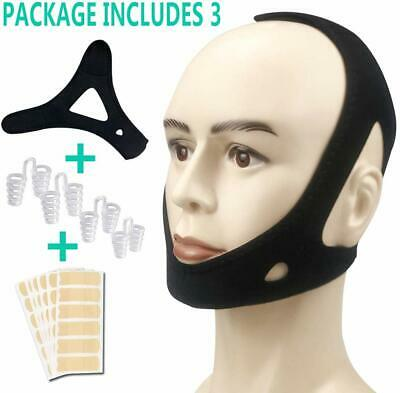 Anti Snoring Devices Chin Strap - Scientific Snoring Solution and Anti Snoring