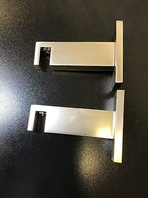 It Paris Texas Two Pairs Of Brackets.  Color Is Steel.