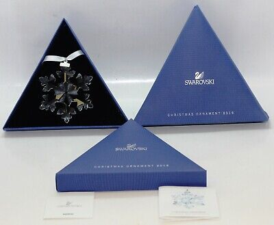 Swarovski Crystal Christmas Large Ornament Annual Edition 2016 5180210 Excellent