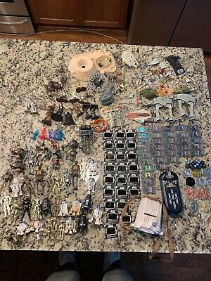 Modern Star Wars Huge Droid Commtech Micro Figures And Picture Viewer Lot