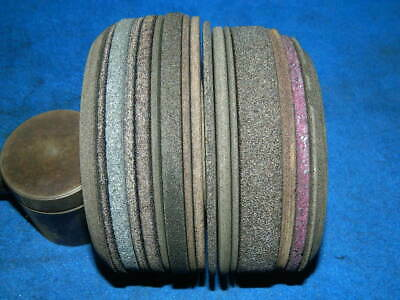 17 Foley Belsaw Saw Sharpener Grinding Wheels - about half are new