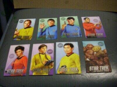 Dave and Buster's Star Trek TOS coin pusher ARCADE cards Full Set with TRIBBLES