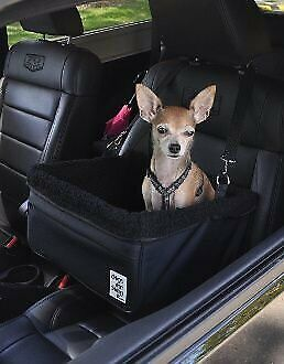 Small Black Dog Car Booster Seat Dogs Out Doing *