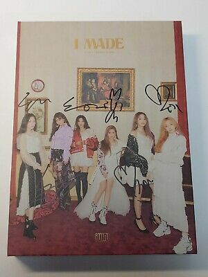 "KOREA MUSIC] (G)I-DLE, - ""I MADE""  2ND MINI Album CD K-POP (Signed CD)"