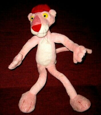 """Aurora Pink Panther Bendable Soft Toy Plush LENGTH 12""""INCHES"""