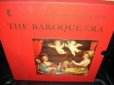 TIME LIFE 144 baroque era / story of great music ( classical ) 4lp box