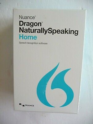 Nuance Dragon Naturally Speaking Home Speech Recognition Software & Microphone