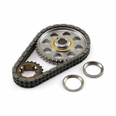 Ford SB 289 302 351 Early Late Double Roller 9 Keyway Billet Steel Timing Chain