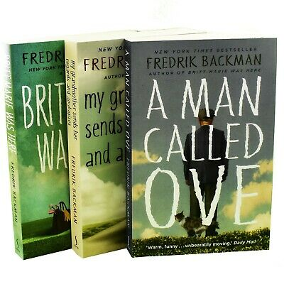 Fredrik Backman Collection 3 Books Set A Man Called Ove,Britt-Marie Was Here New