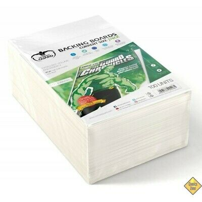 Golden Size Protège Comic 100 Backing Boards Current Size Thick 171x266 mm NEUF