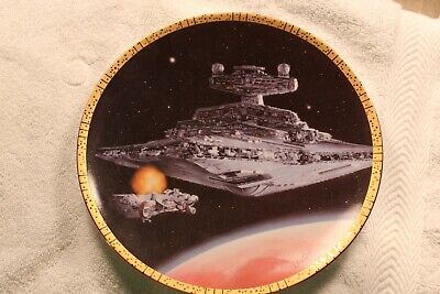 Star Wars Hamilton Space Vehicles Plate Collection Star Destroyer