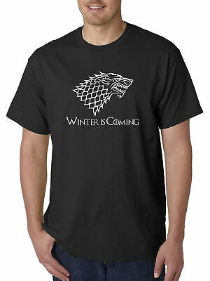 New Way 1217 - Unisex T-Shirt Winter Is Coming Stark Sigil Game Of Thrones