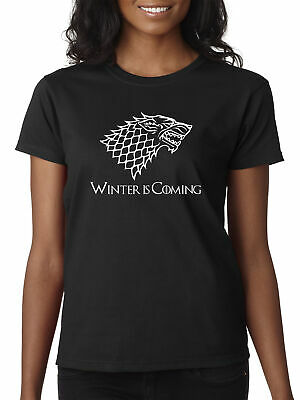 New Way 1217 - Women's T-Shirt Winter Is Coming Stark Sigil Game Of Thrones